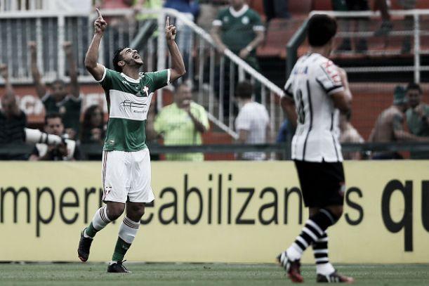 Danilo marca no fim e Corinthians e Palmeiras empatam no clássico paulista