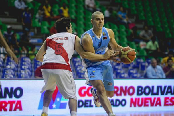 Sudamericano de basketball: Uruguay aplastó a Perú