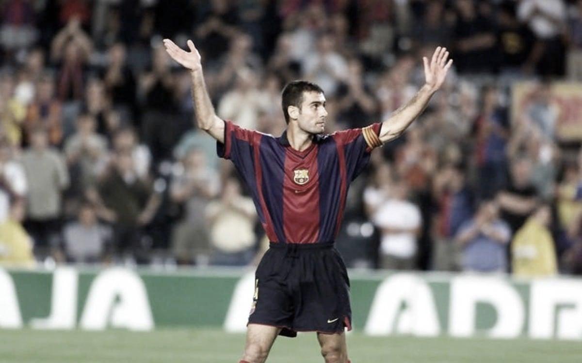 Guardiola, el cerebro del 'Dream Team' dentro del campo