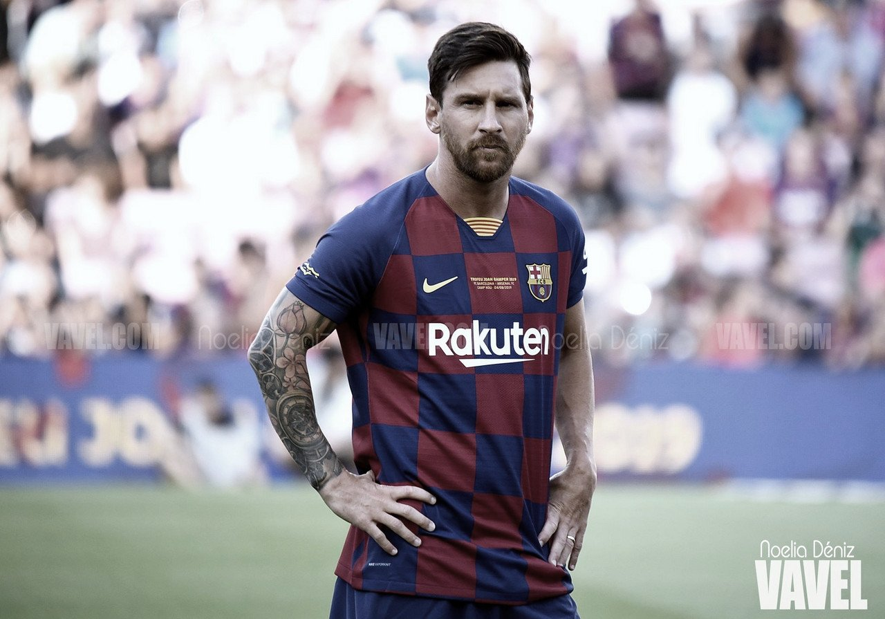 Messi iguala el récord de Xavi en asistencias