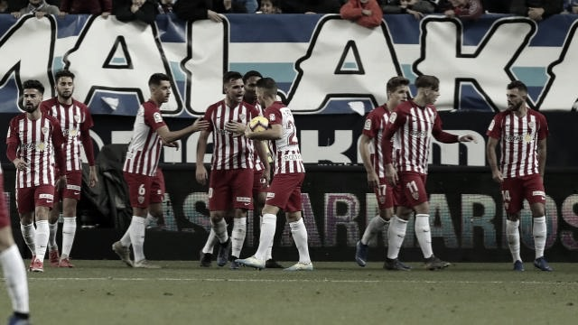 El Málaga CF se desploma