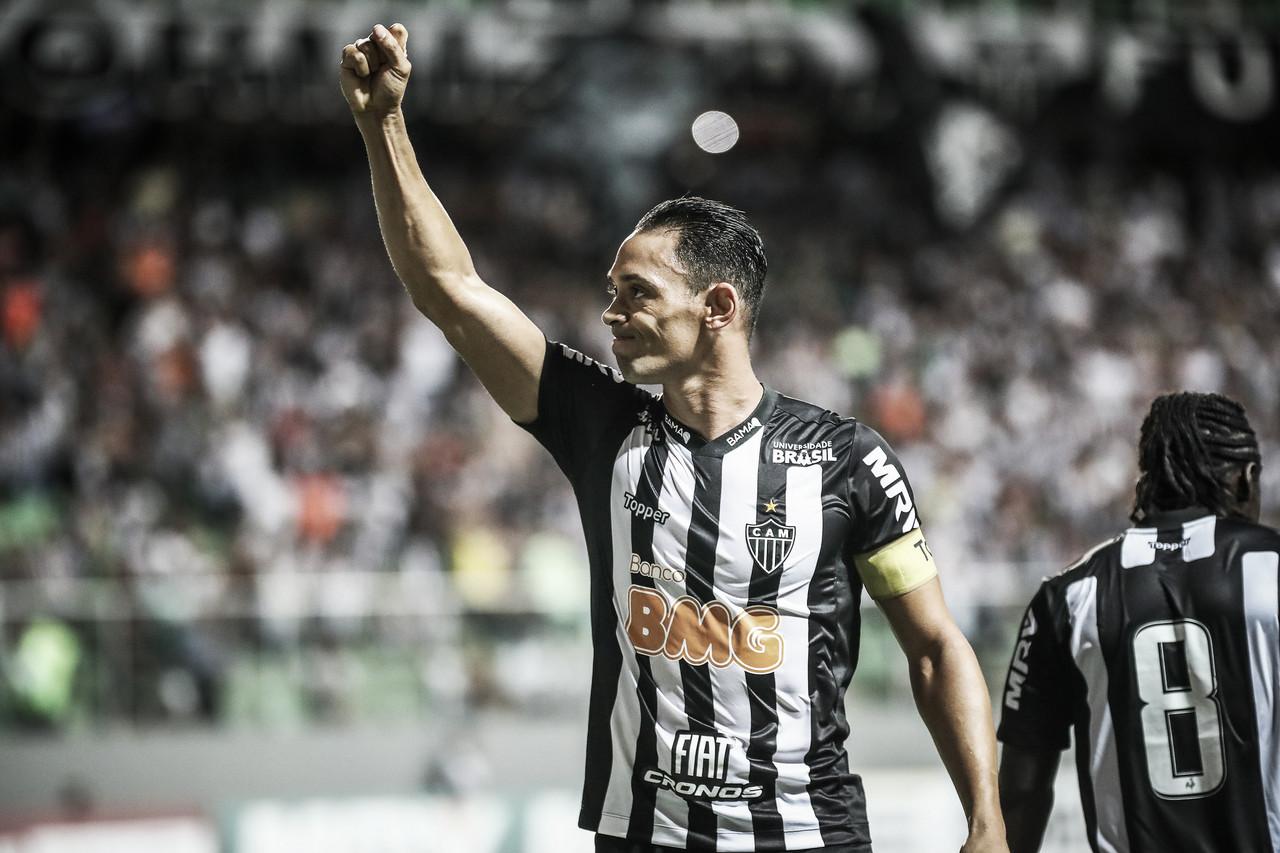 Com dois gols de Ricardo Oliveira, Atlético-MG atropela URT no Independência