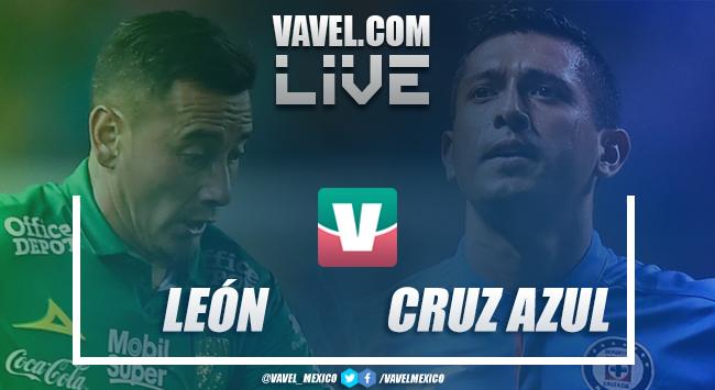 Resultado León 2-0 Cruz Azul en Liga MX 2019