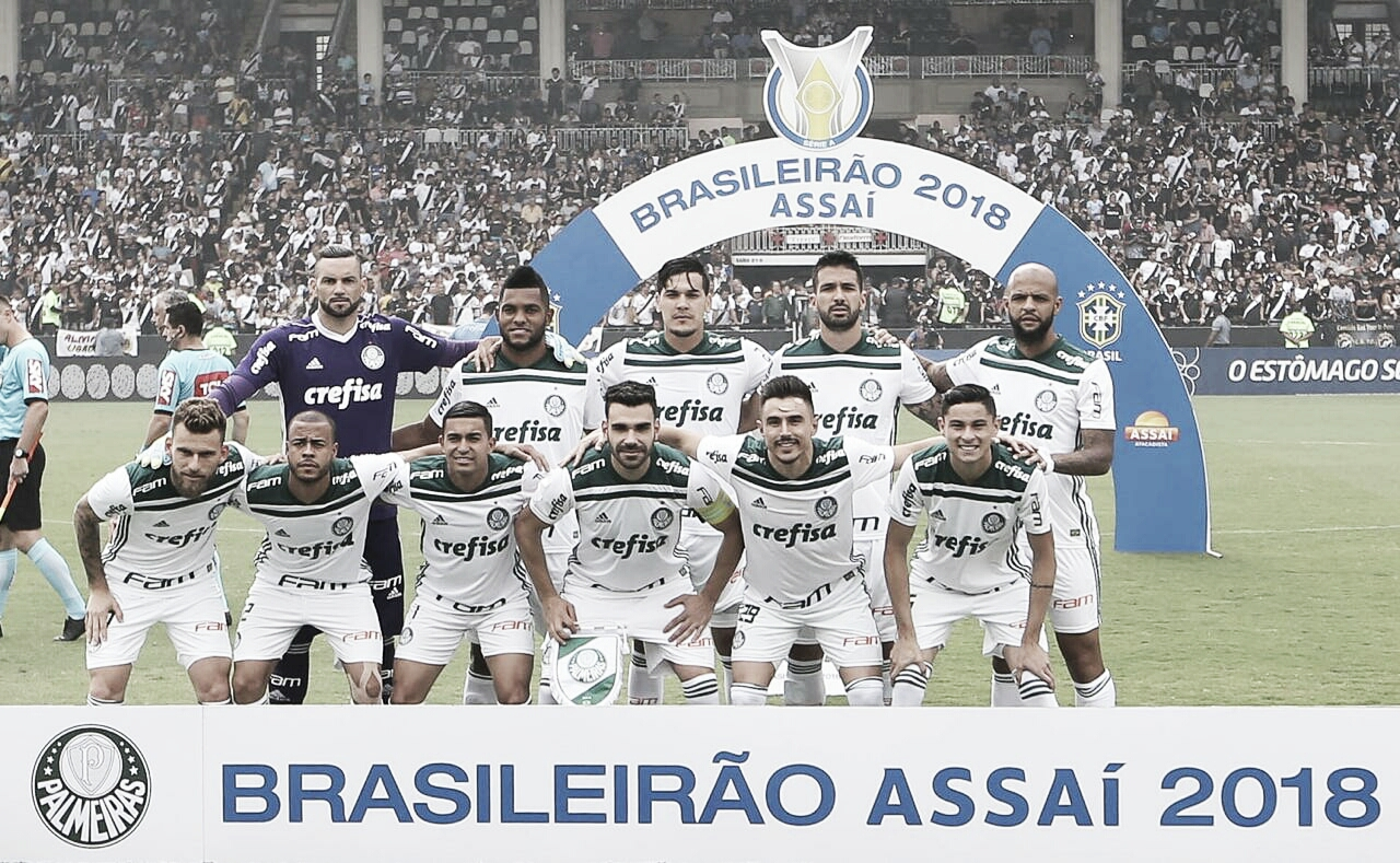 É campeão! Palmeiras bate Vasco fora de casa e leva o Campeonato Brasileiro