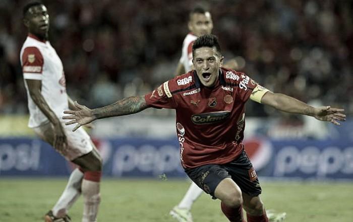Los goles de Germán Cano en su primer paso por el Independiente Medellín
