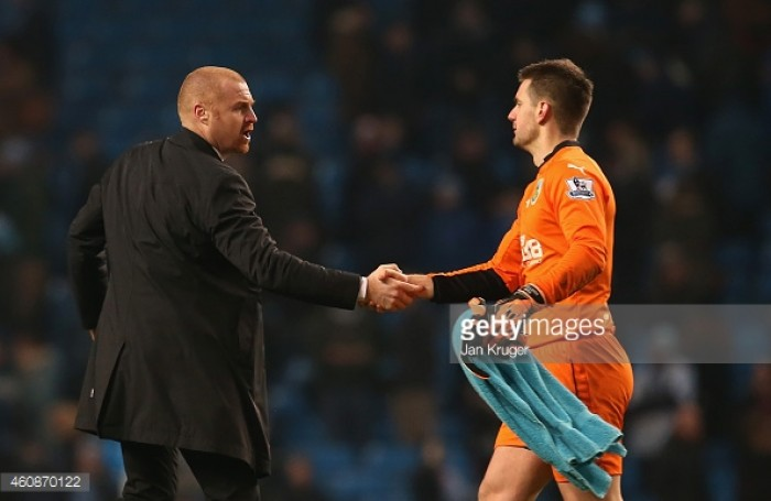 Sean Dyche in the market for a new goalkeeper