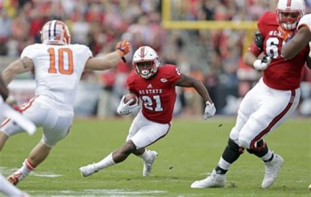 Halfback Matt Dayes Out For Remainder Of Season At NC State