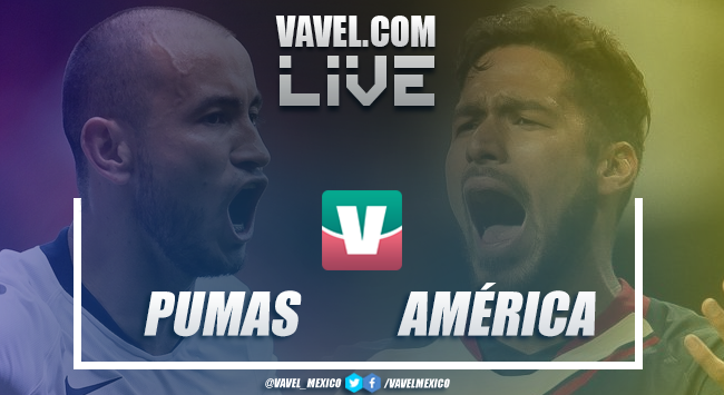 Resumen y goles Pumas 1-1 América en Semifinal Ida 2018