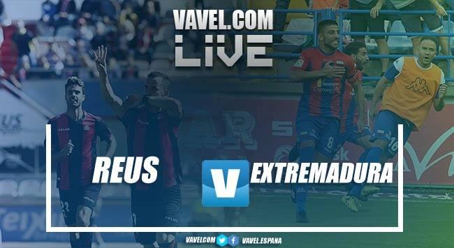 Resumen CF Reus vs. Extremadura UD en LaLiga 123 (1-4)