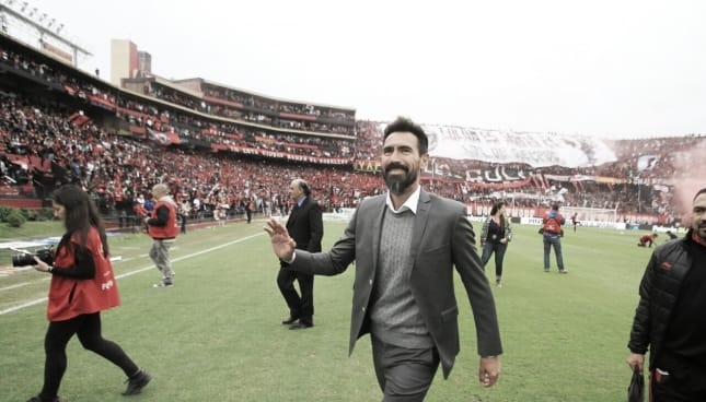Eduardo Domínguez dimitió a su cargo como DT de Colón