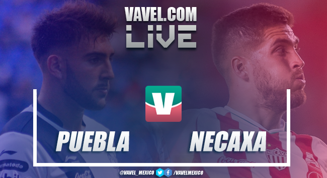 Resumen y goles del partido Puebla 1-4 Necaxa de la Liga MX 2019