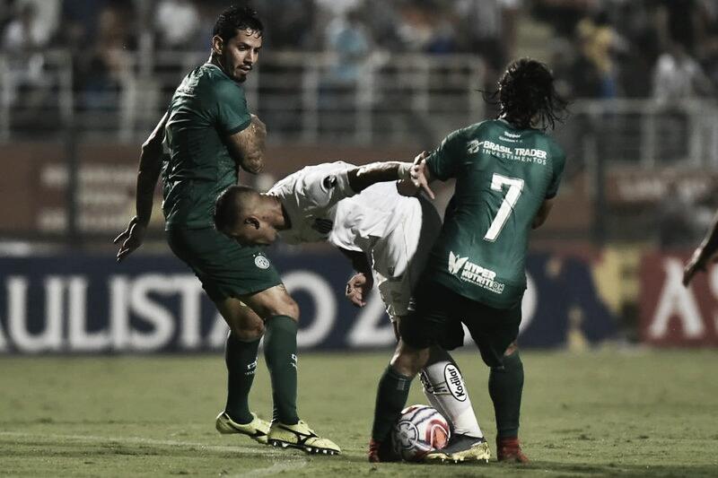 Melhores momentos e gols para Guarani 1x2 Santos pelo Paulistão 2020