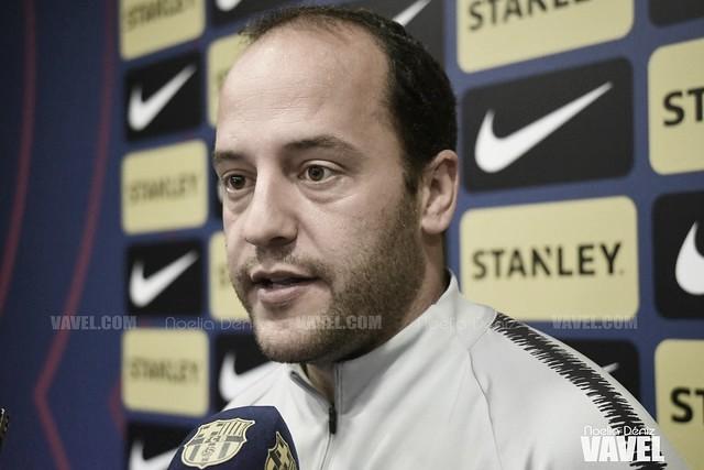 """Lluís Cortés: """"Es un partido determinante si queremos tener opciones en Liga"""""""