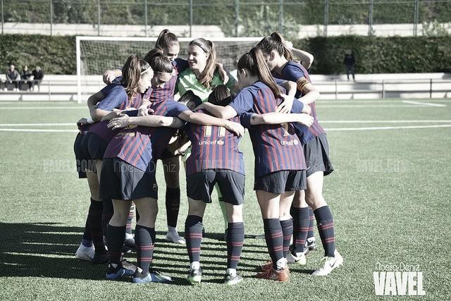 El Barça B femenino asegura el ascenso