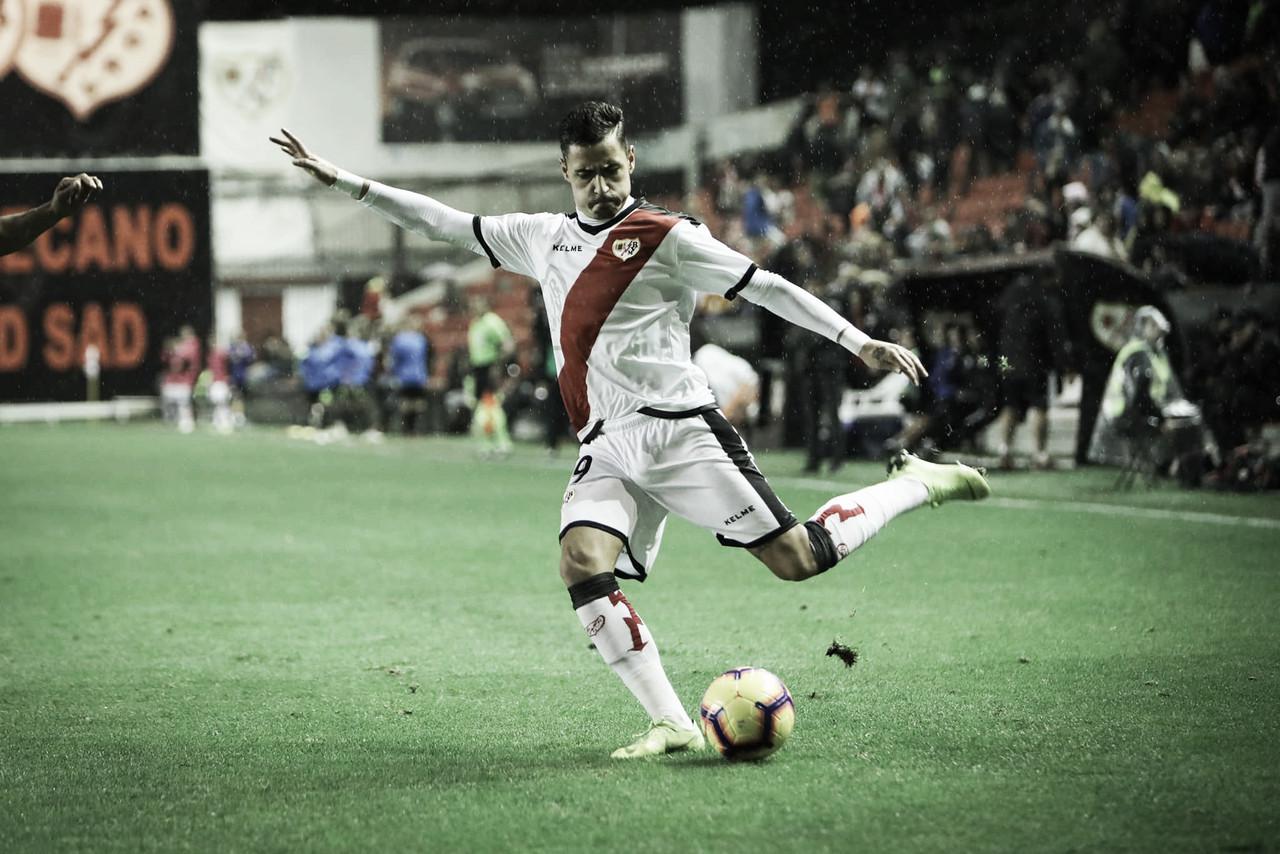 Sergio Moreno disparó una vez a portería, como Álex Alegría