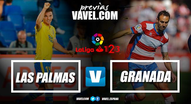 Previa UD Las Palmas - Granada CF: un duelo de altos vuelos