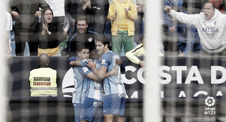 Cómoda victoria del Málaga