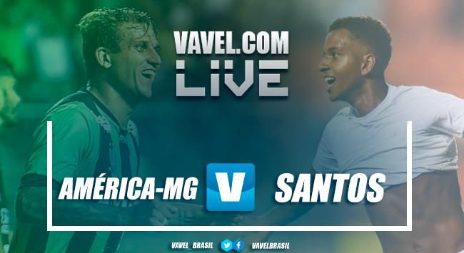 Resultado América-MG 2x1 Santos no Campeonato Brasileiro 2018