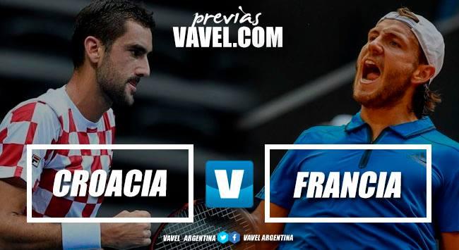 Previa VAVEL: Francia-Croacia Final de Copa Davis 2018