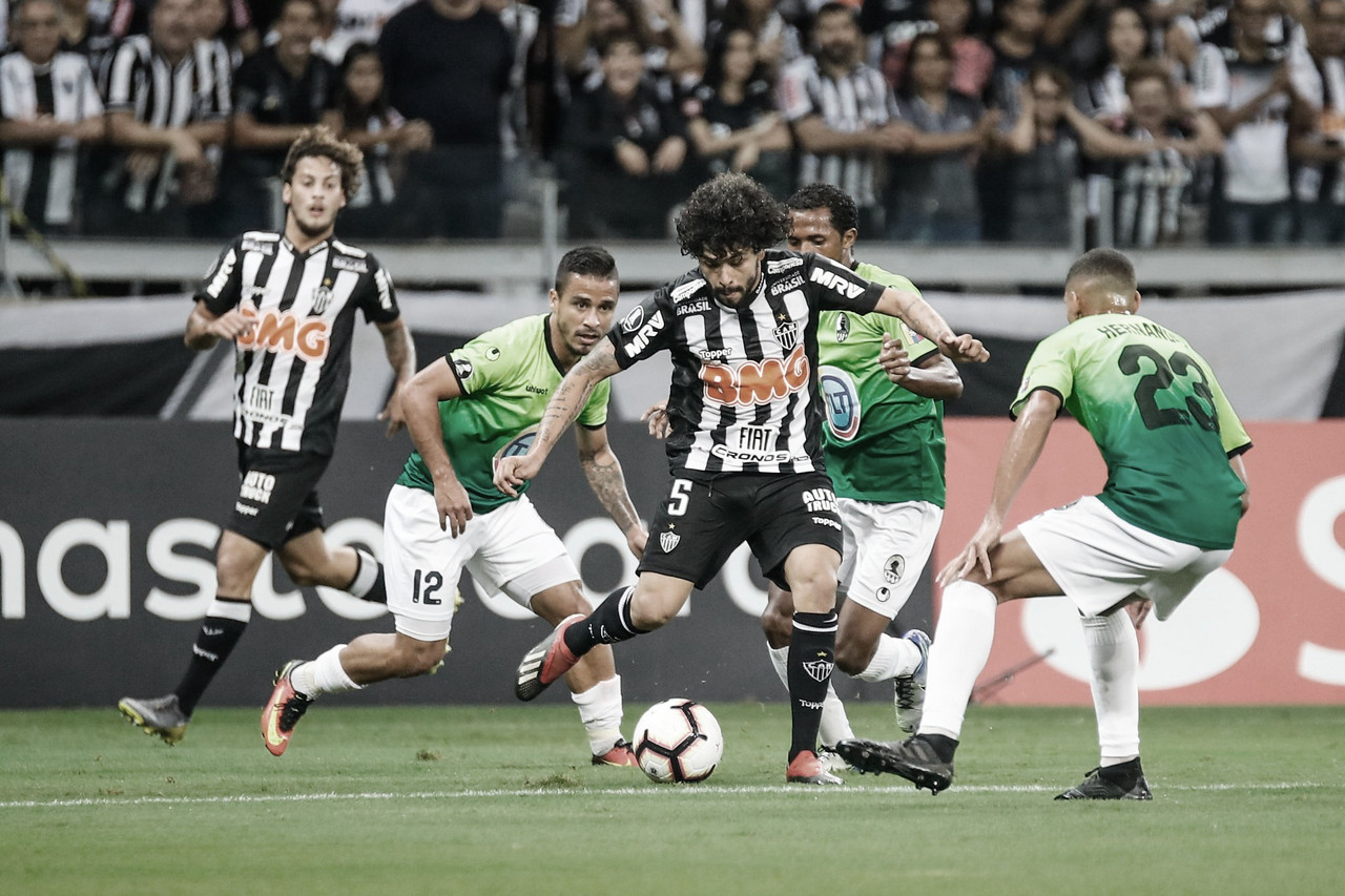 Com time misto, Atlético-MG se despede da Libertadores contra o Zamora na Venezuela