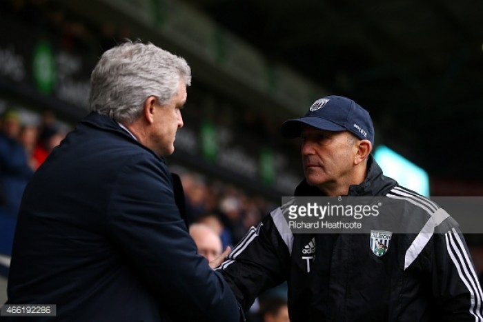 Stoke City vs West Bromwich Albion: Head to Head