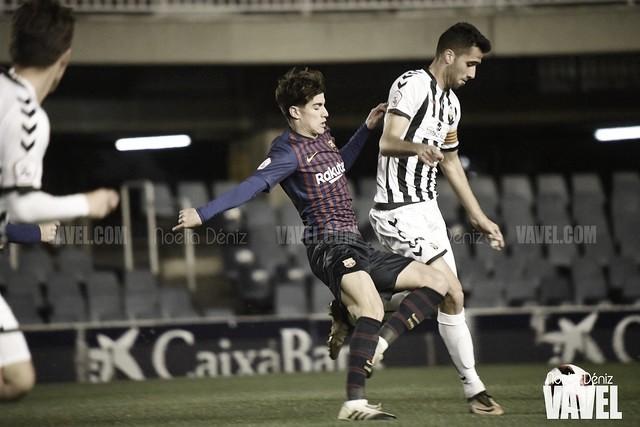El Barça B cae en Castalia y le brinda la permanencia al Castellón