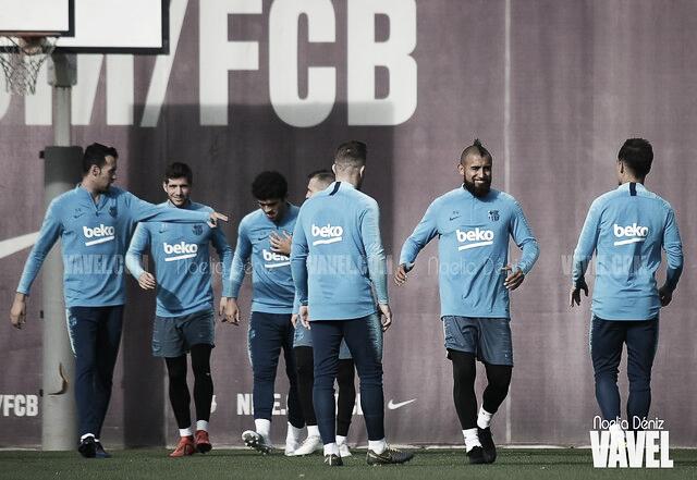 El Barça vuelve al trabajo a un paso de LaLiga