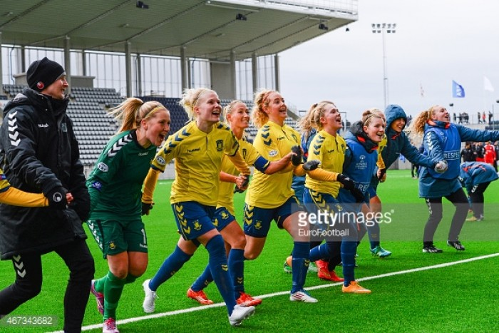 Brøndby IF Women is crowned Danish Champions 2016/2017