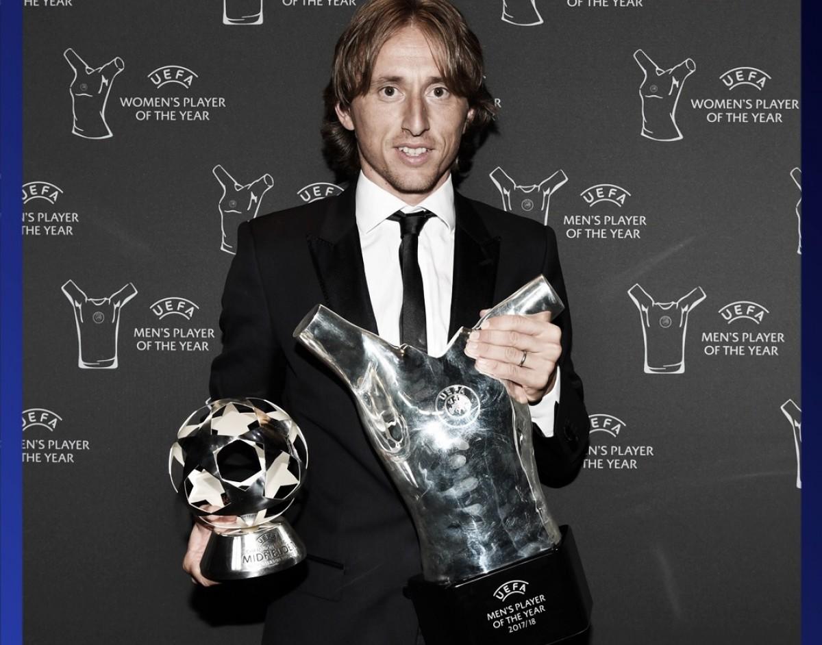 Modric desbanca CR7, Salah e conquista prêmio de melhor jogador da temporada europeia
