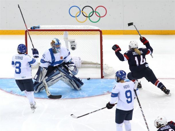 Hockey sur glace (F) : Pas de surprises pour la première journée