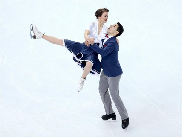 Pattinaggio, nella danza Stati Uniti in testa, quinta l'Italia