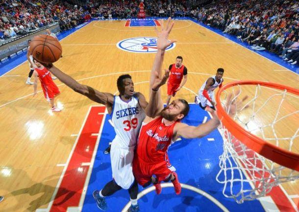 Los Clippers pasan por encima de los Sixers