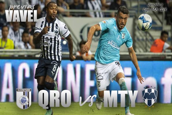 Previa Querétaro vs Monterrey: a terminar la racha negativa