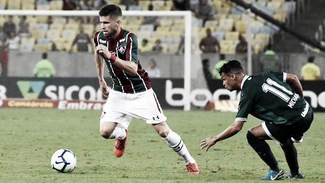 Sem vencer há três partidas, Goiás enfrenta Fluminense em confronto direto contra Z-4