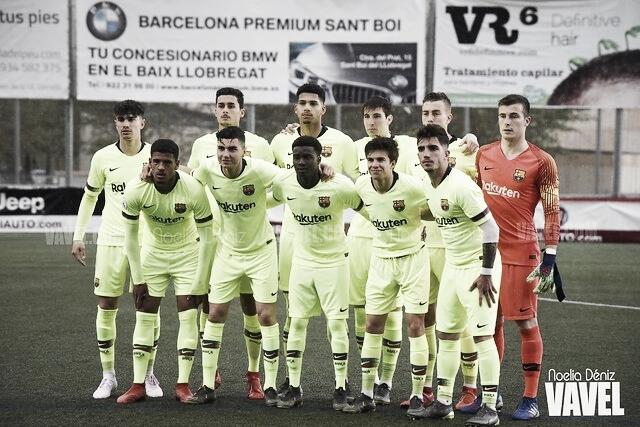 Convocados del FC Barcelona B ante el Atlético Levante