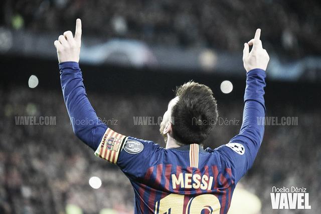 El libre directo de Messi frente al Liverpool, el mejor gol de la Champions League
