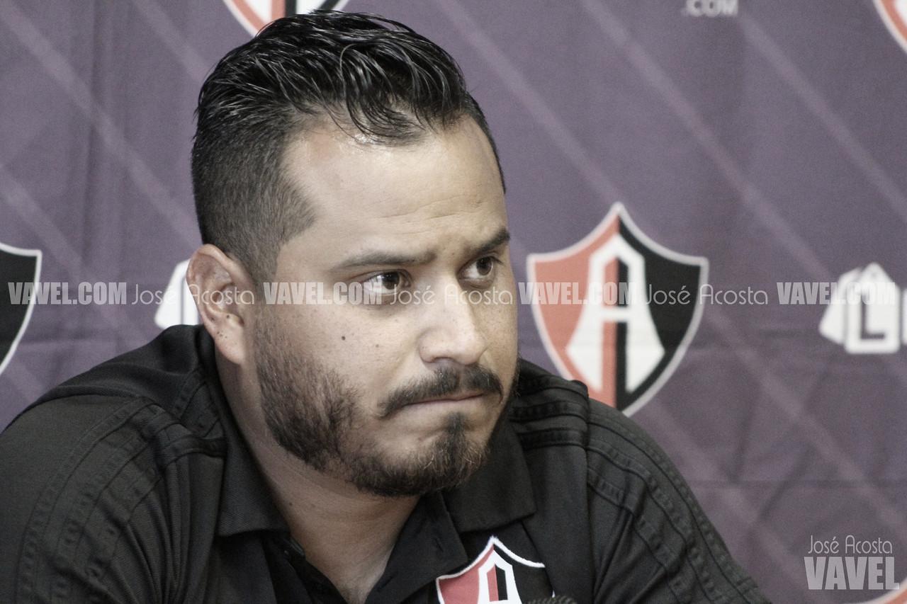 """Fernando Samayoa: """"Son los peores 45 minutos desde mi llegada al Atlas"""""""