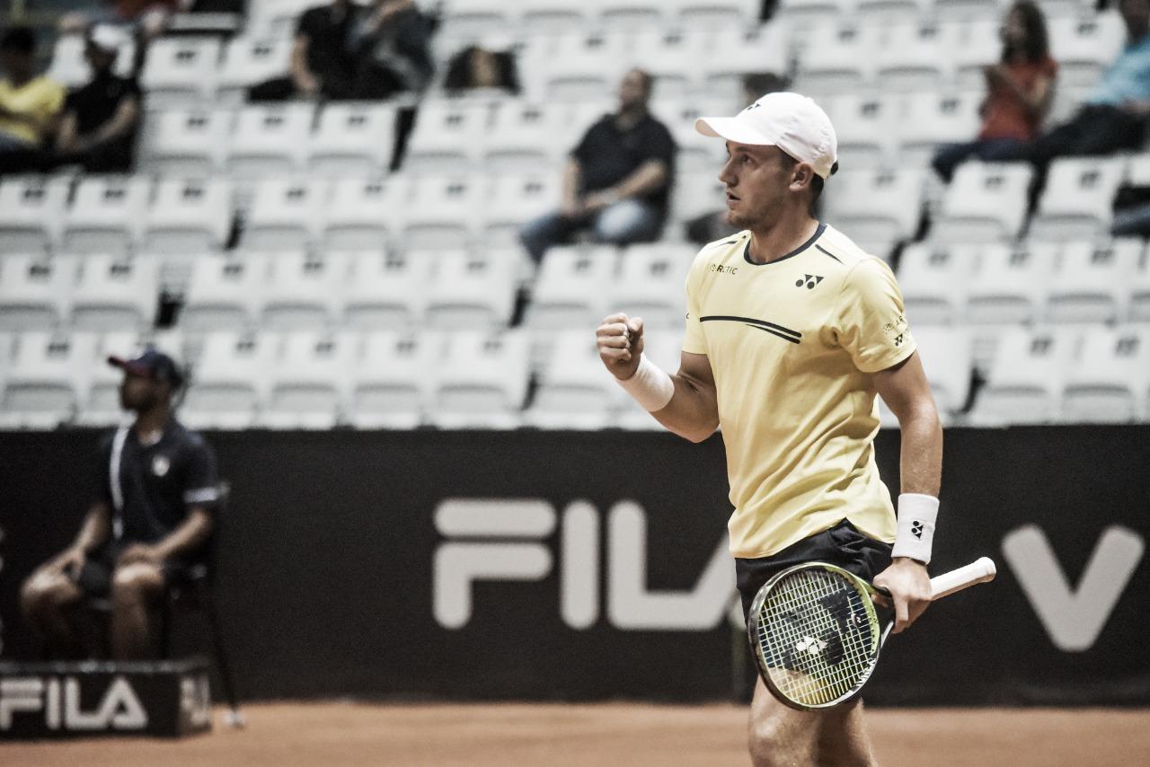 Ruud arrasa Dellien e vai à semifinal do Brasil Open