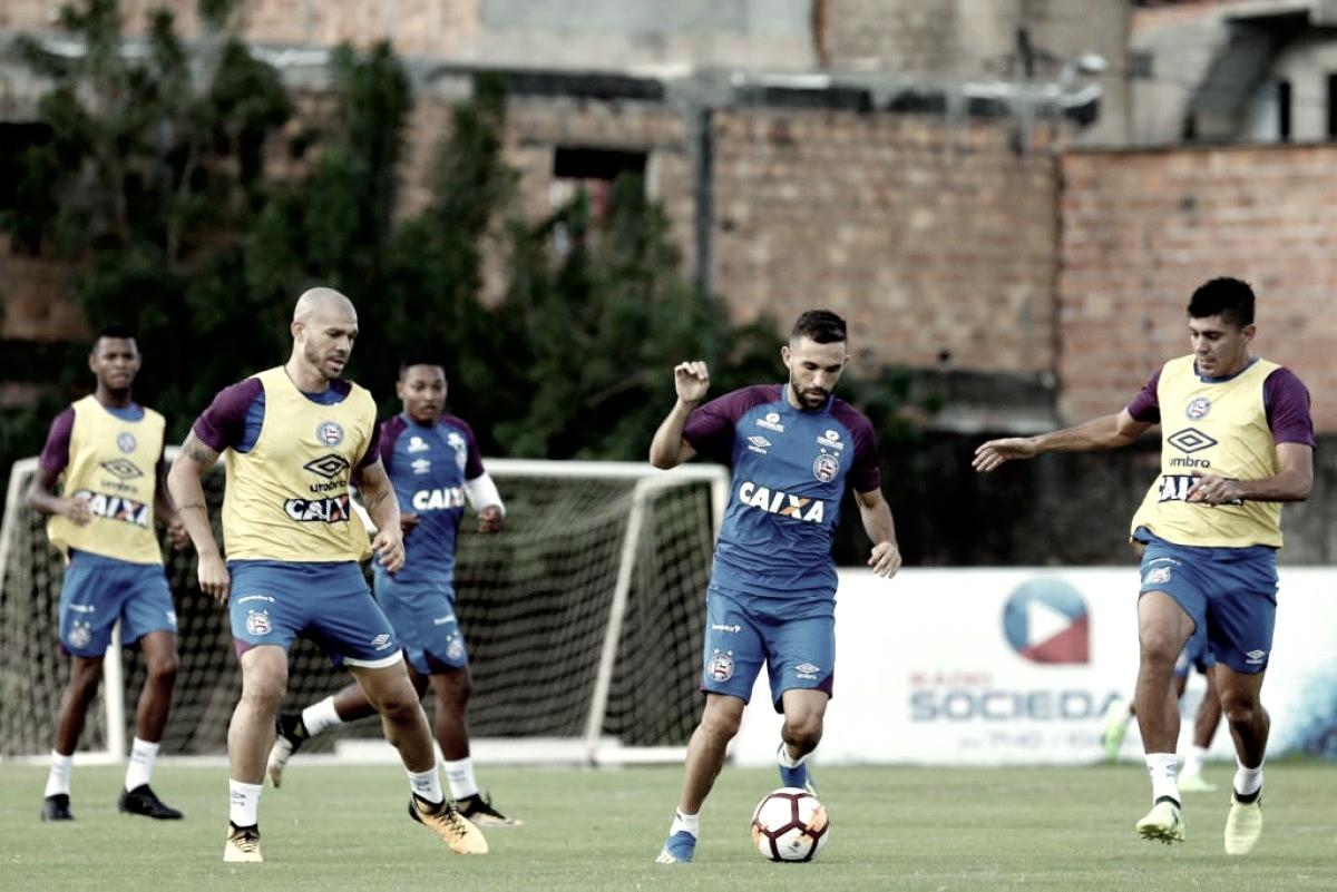 Embalado por vitória em clássico, Bahia enfrenta Cerro-URU pela Copa Sul-Americana
