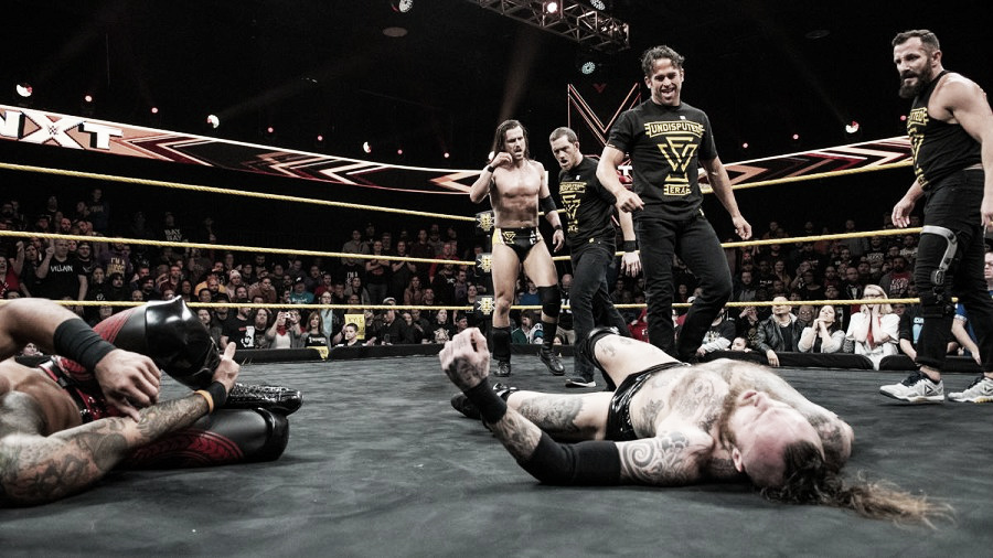 NXT 13 de Febrero de 2019; Undisputed Era se ponen serios
