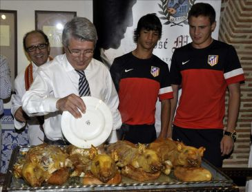 """Cerezo: """"Adrián es un jugador del Atlético de Madrid"""""""