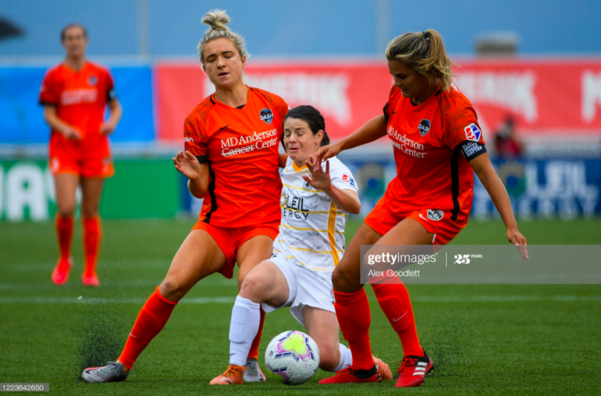 Houston Dash 3-3 Utah Royals: First draw of the tournament as King rescues a point