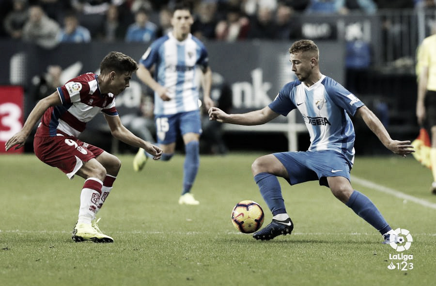 Primera derrota del Málaga CF en La Rosaleda
