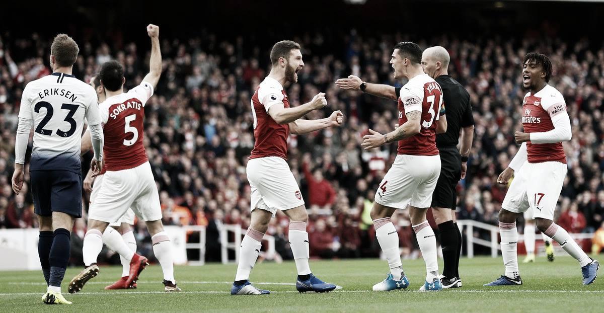 El Arsenal se lleva el derby londinense