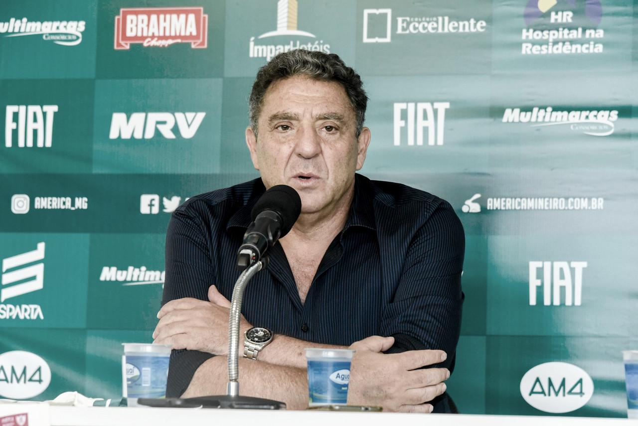 "Presidente do América-MG relata consenso entre clubes parainício da Série B: ""Podemos enxugar as datas"""