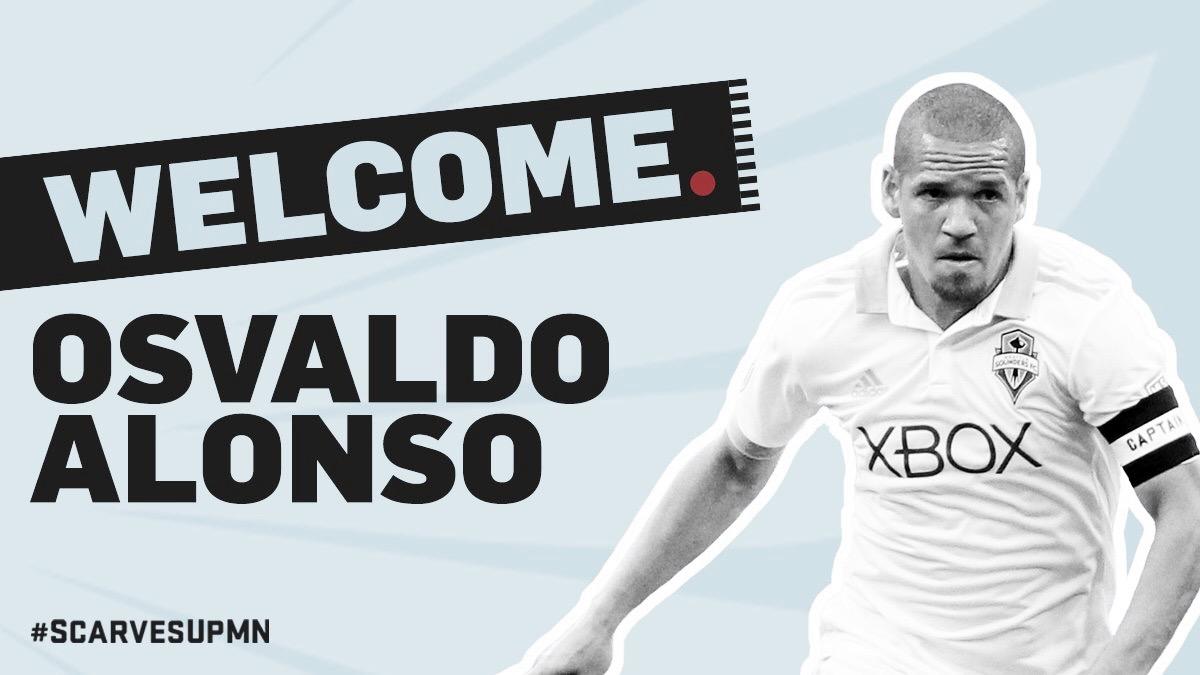 'Ozzie' Alonso firma con Minnesota United FC