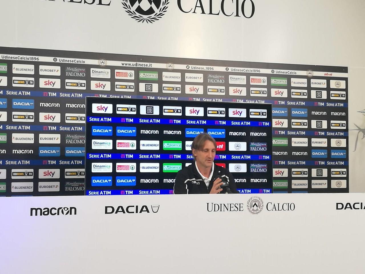 """Udinese - Nicola: """"Contro l'Atalanta inizierò a proporre altro, ma dobbiamo restare umili"""""""