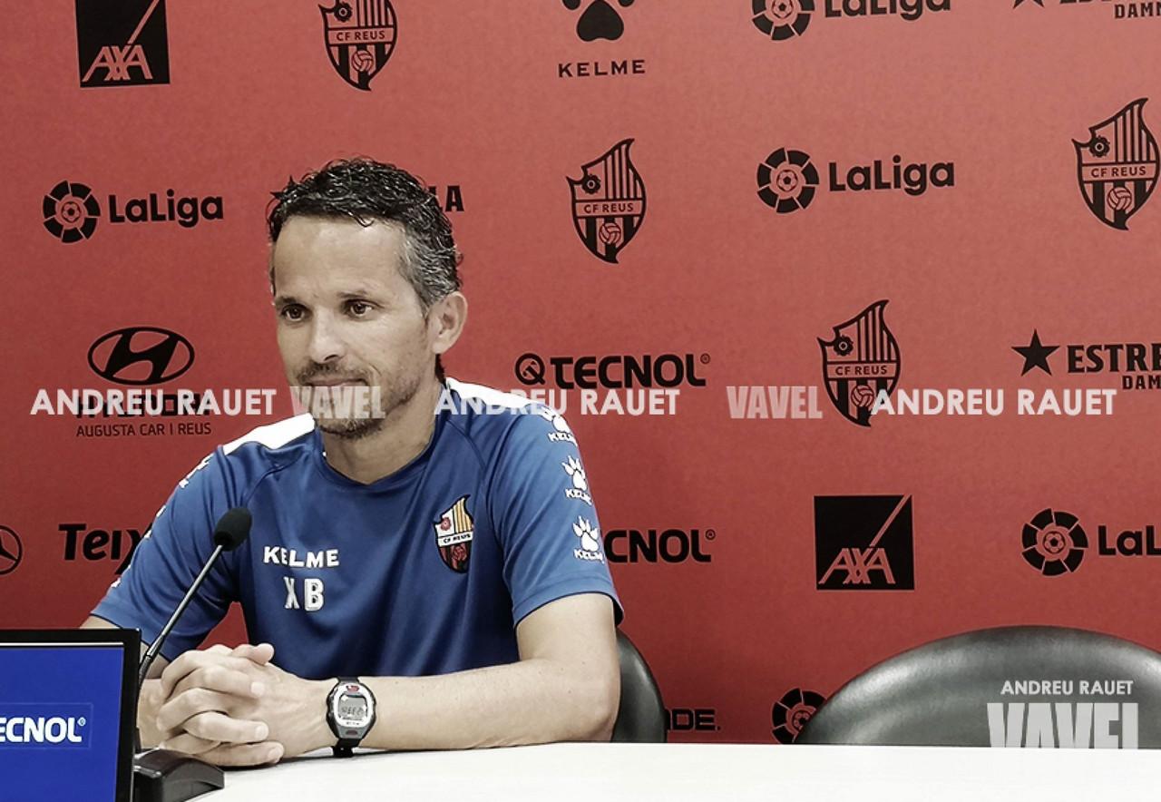 """Xavi Bartolo: """"El equipo ha merecido algo más en las últimas jornadas que ha disputado"""""""