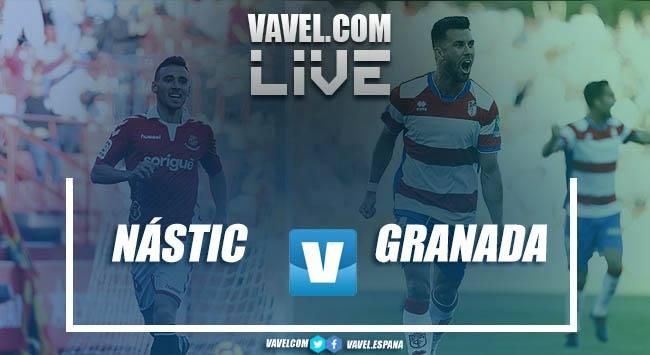 Resumen Nástic de Tarragona 0-1 Granada CF en Segunda División 2018