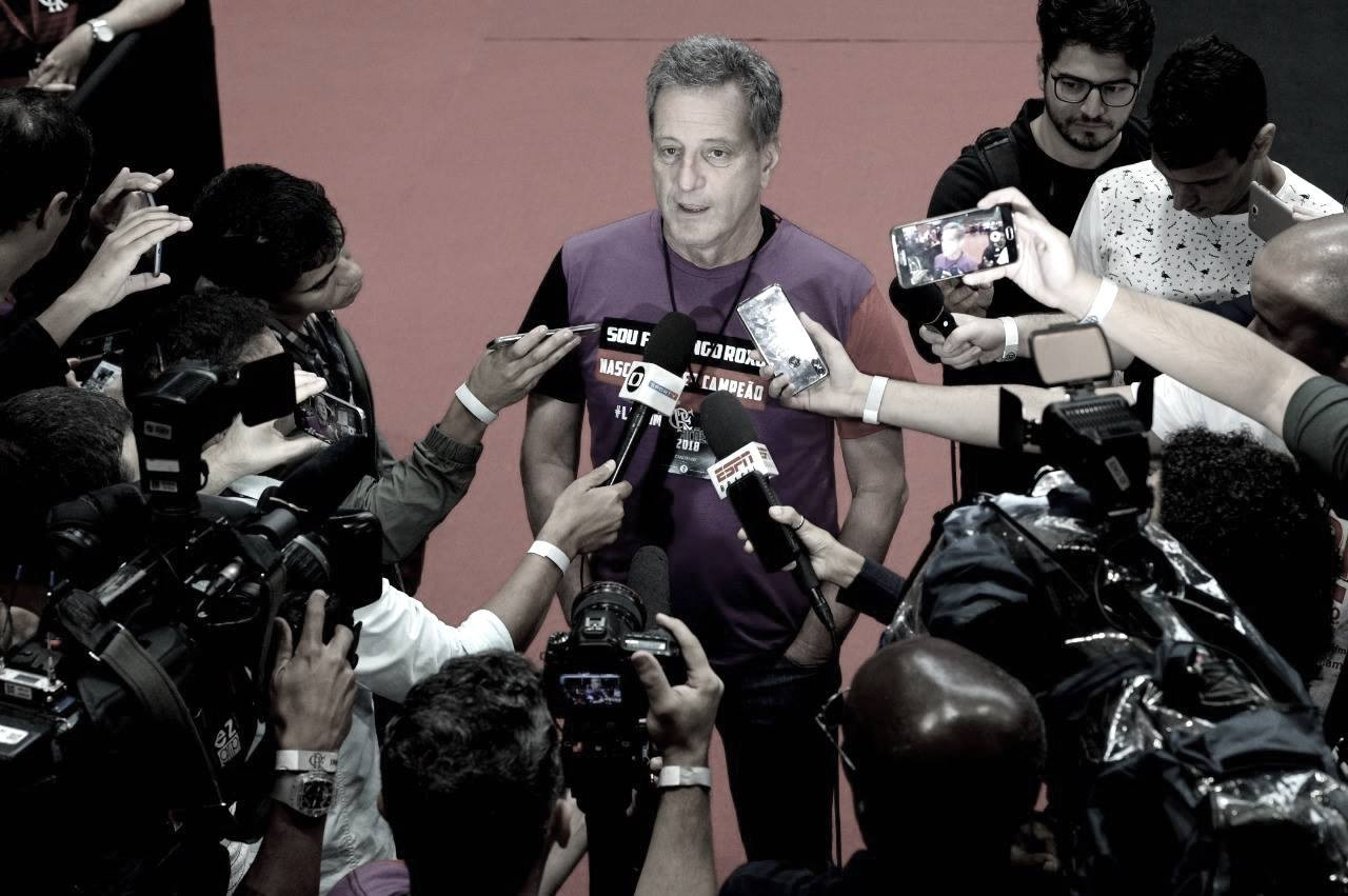 Com retornos, Rodolfo Landim divulga os nomes dos novos vice-presidentes no Flamengo